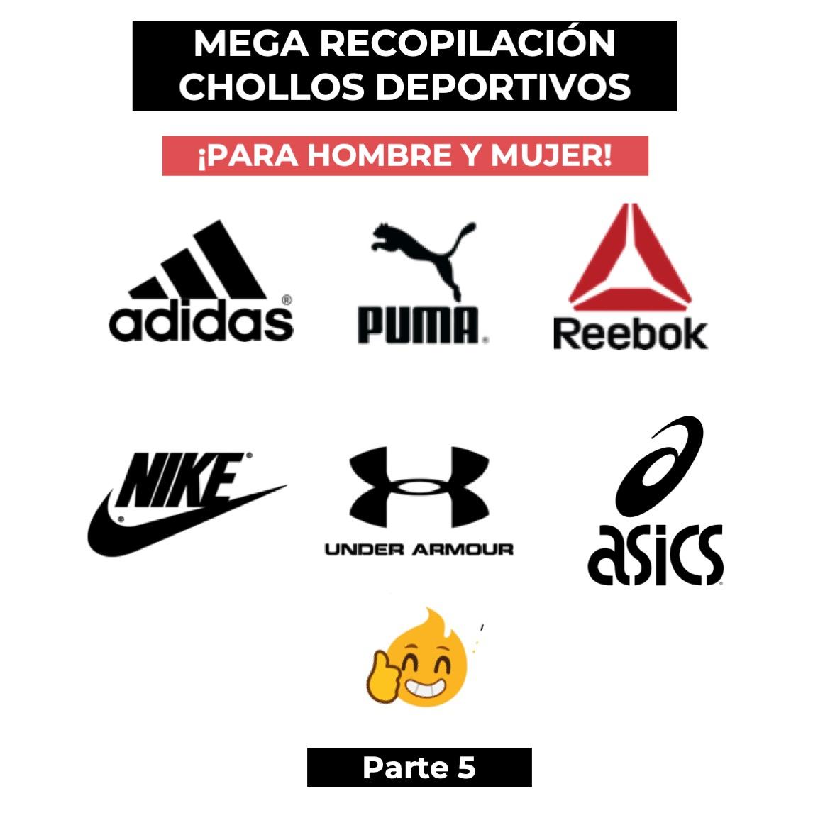 MEGA Recopilación de chollos deportivos ADIDAS, NIKE, PUMA, Under Armour, REEBOK, ASICS... PARA HOMBRE Y MUJER - Parte 5