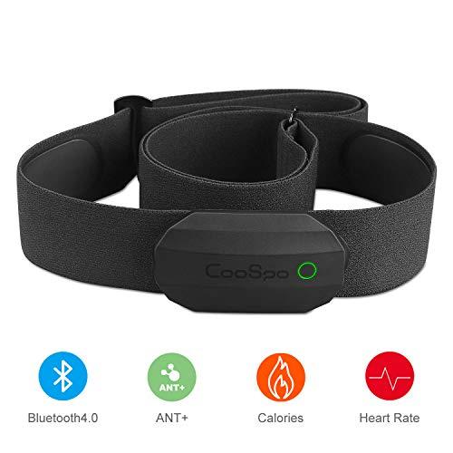 CooSpo Frecuencia Cardíaca Bluetooth Banda