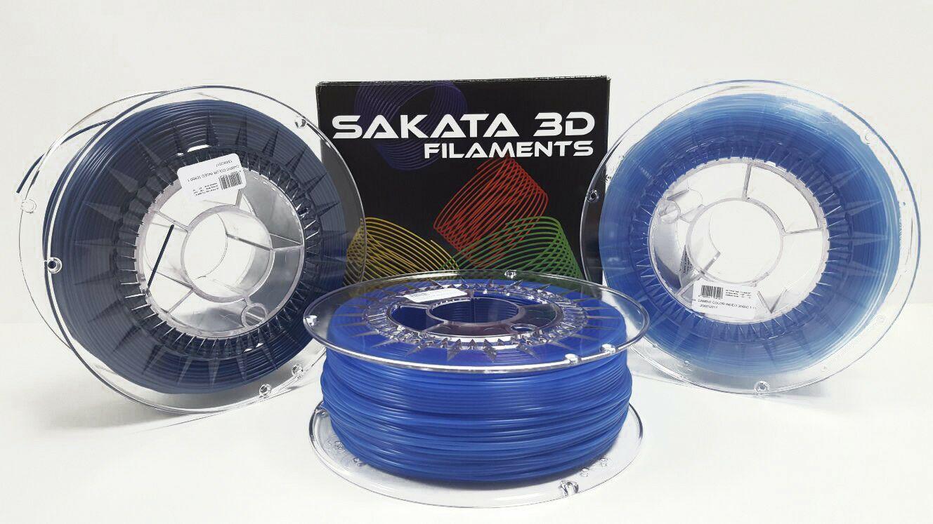 Pack de 4 bobinas PLA de Sakata 3D