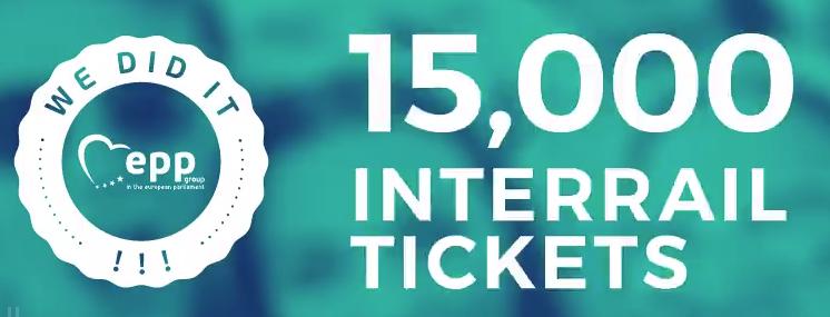 Interrail gratis para jovenes de 18 Años *Solo 15.000*