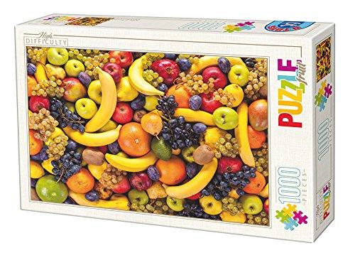 Unbekannt D de Toys 1 – Puzzle Alta Dificultad – Frutas 1000 Piezas