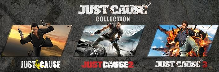 Just Cause Collection por menos de 10€.