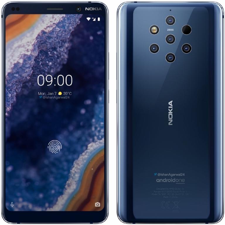 Nokia 9 PureView 128GB 6Gb RAM Azul Tienda Española envío gratis!!!