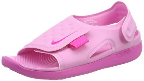 TALLA 37.5 COLOR ROSA - Nike Sunray Adjust 5 (GS/PS), Zapatos de Playa y Piscina