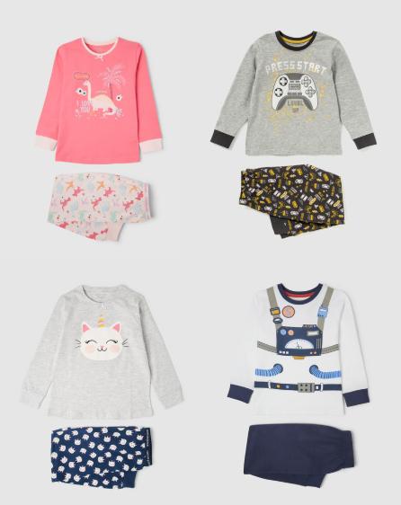 Pijamas para peques Cotton Juice