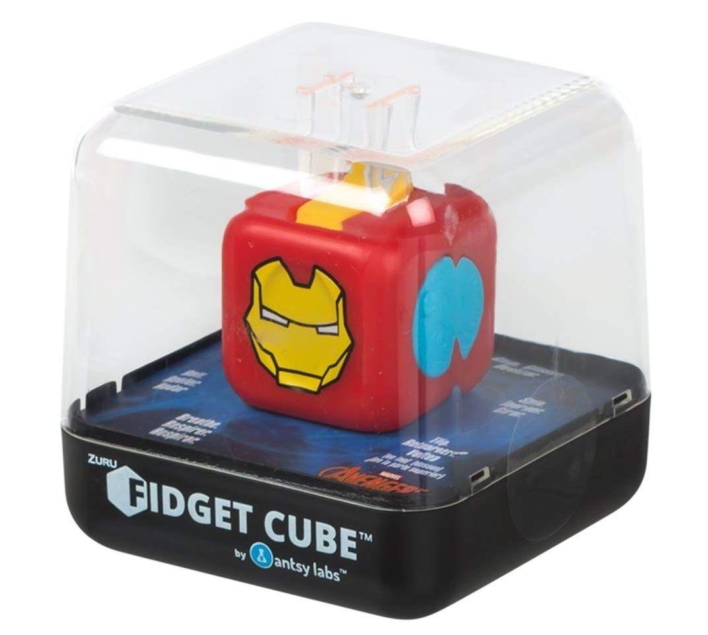 Fidget Cubes IronMan / Capitan America / Spiderman / Superman (AMAZON)