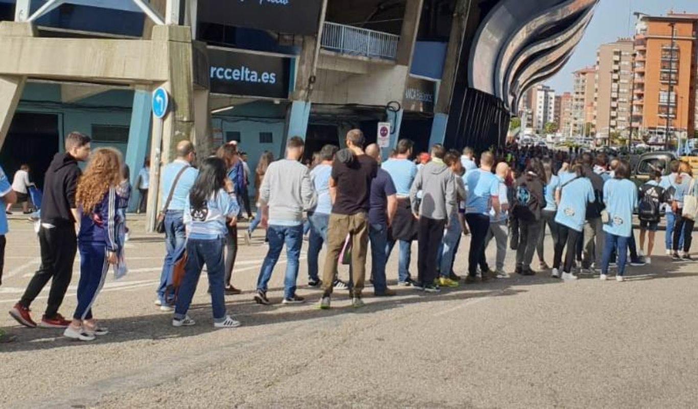 El Celta dará chocolate, cerveza y empanada gratis en la previa del Eibar