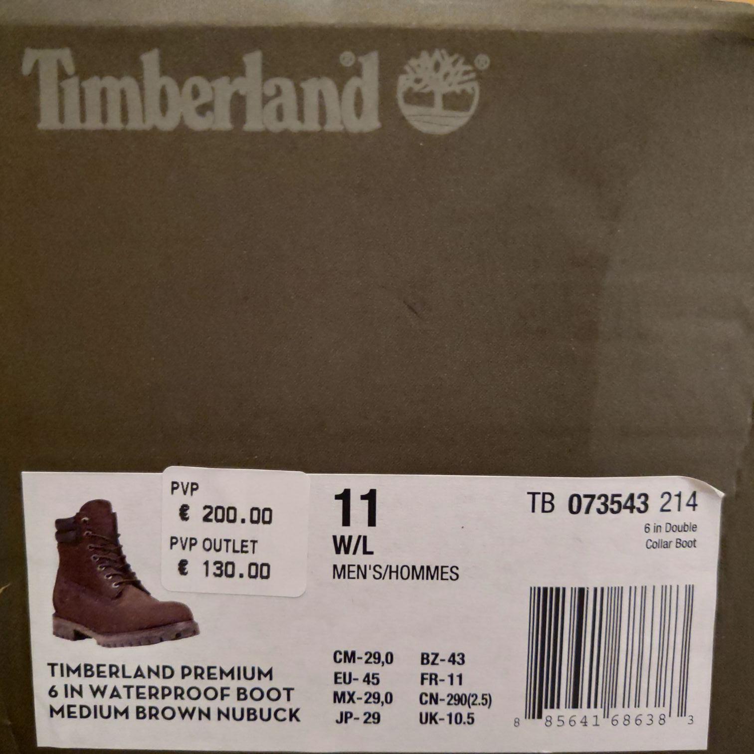 Timberland Premium 6 In doble collar