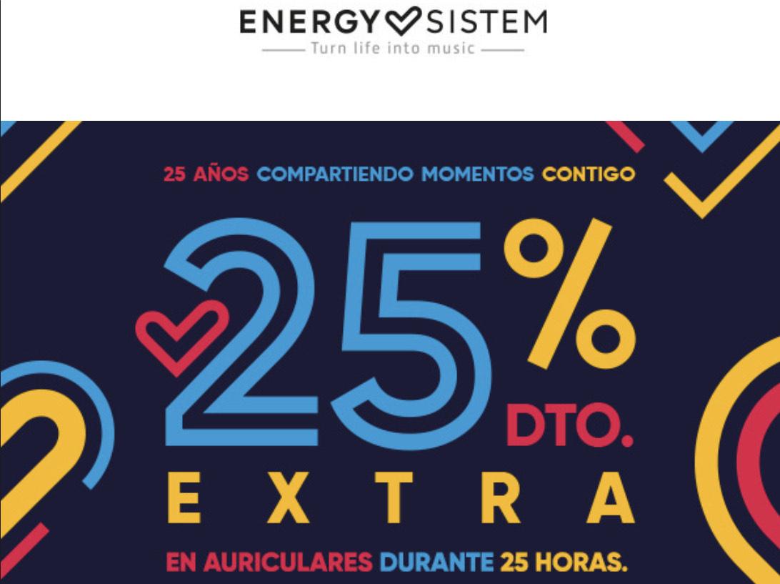 25% DTO EN AURICULARES ENERGY SISTEM