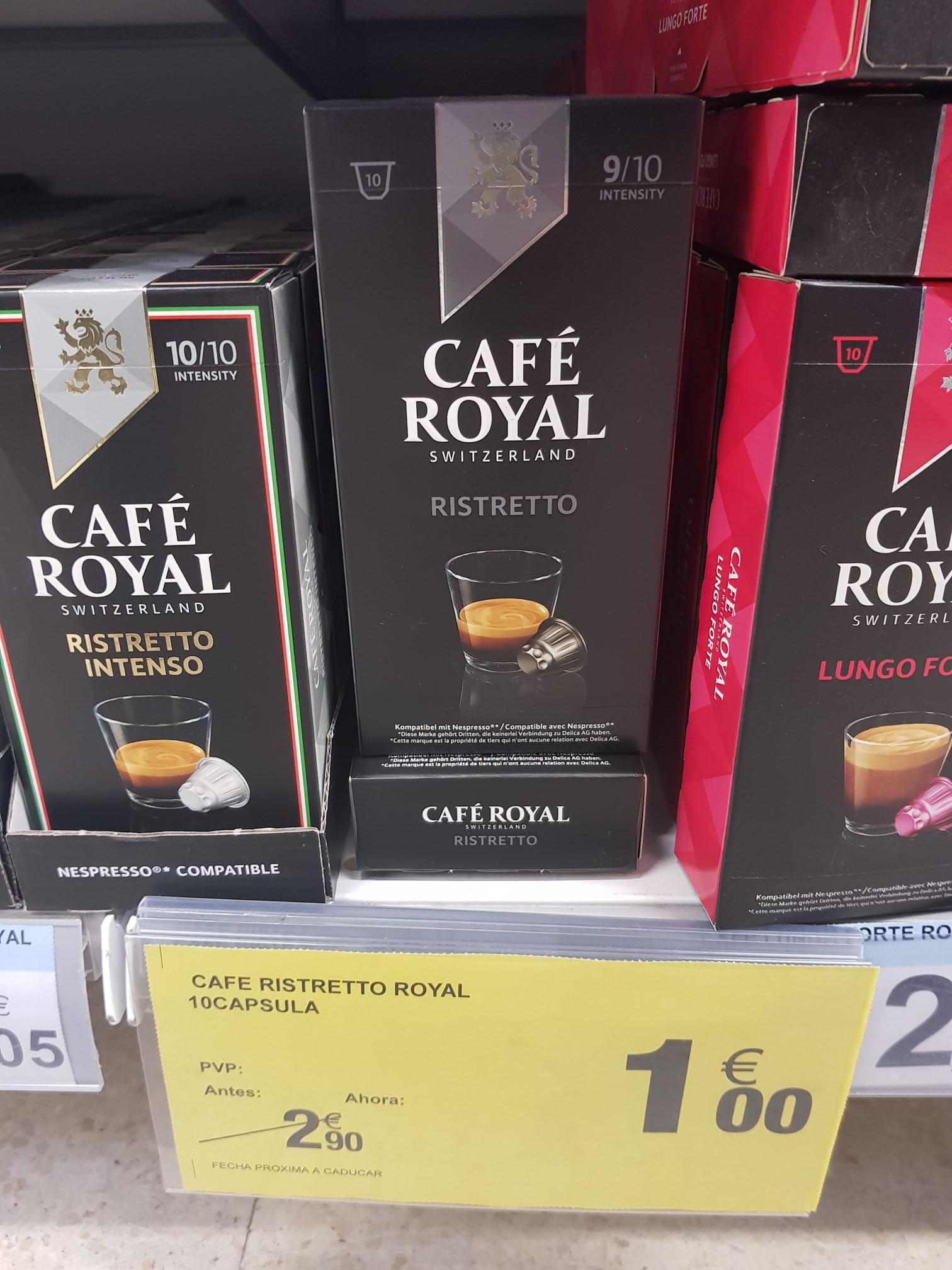 Café Royal Risetto (Carrefour Algeciras)