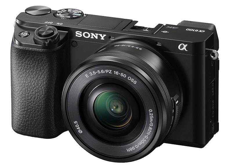 Sony alpha a6100 con objetivo 16-50 a precio mínimo