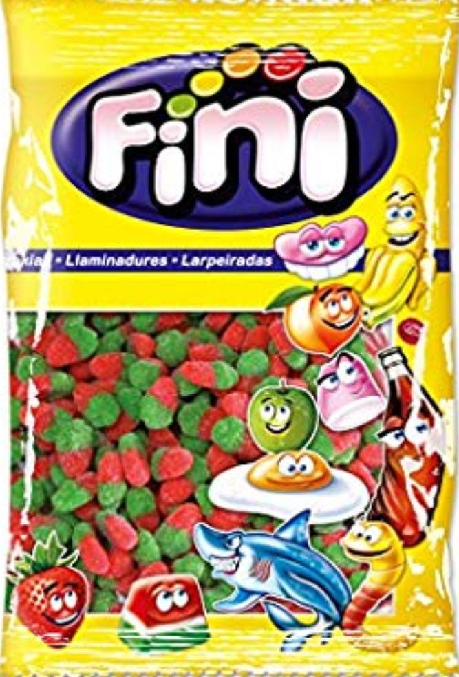 1Kg de fresas de gominola de pica-pica Fini