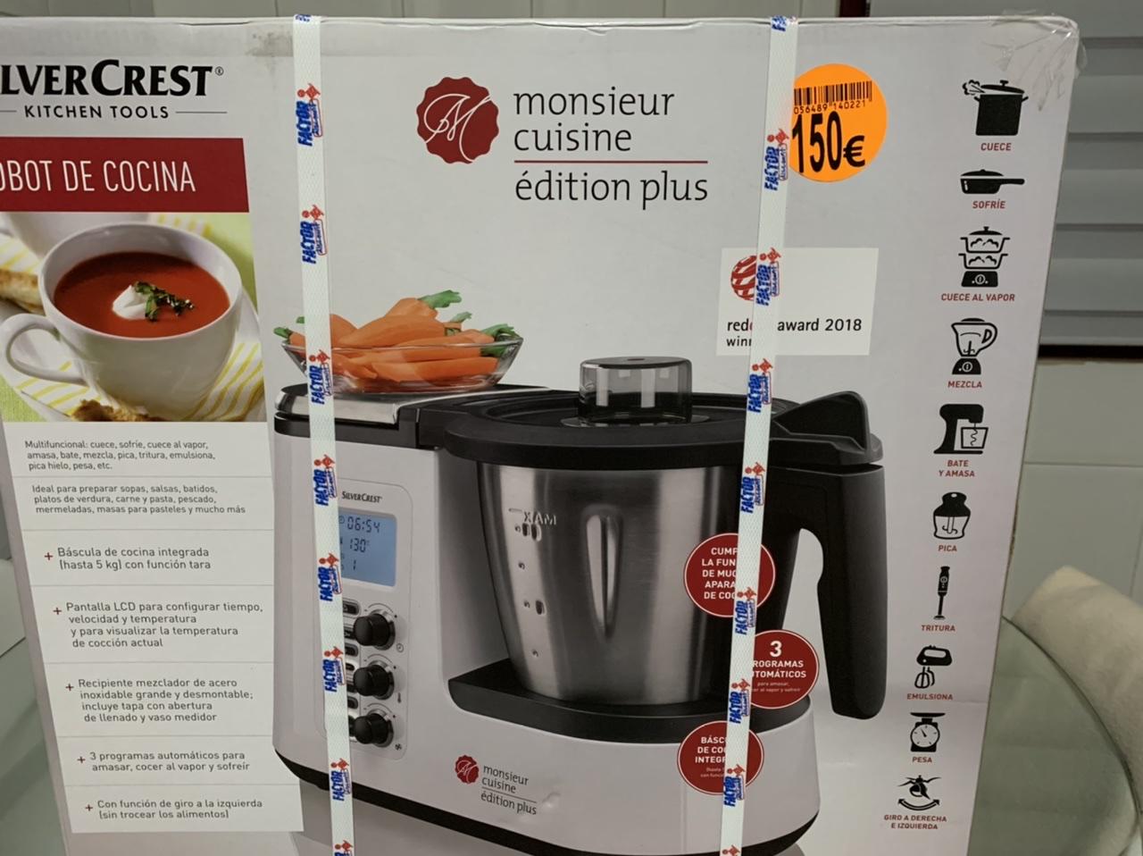 Robot de cocina Monsieur Cuisine Plus (próximo miércoles en Madrid)