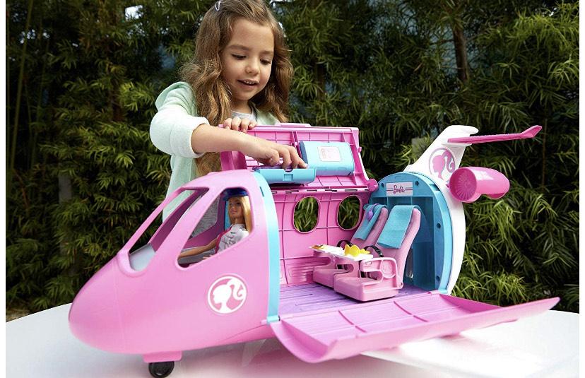 Barbie - Avión de pasajeros + Barbie Piloto