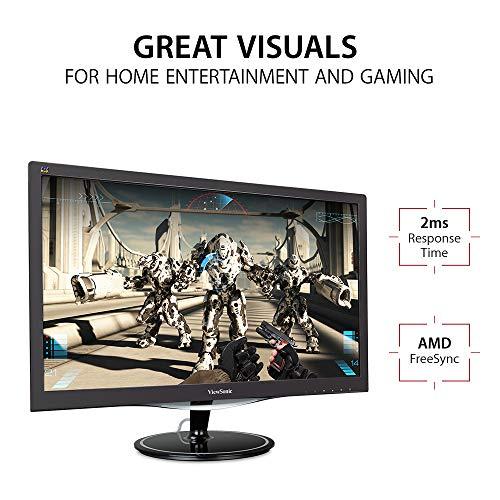 "ViewSonic VX2457MHD - Monitor 24"" Full HD por sólo 89 €"