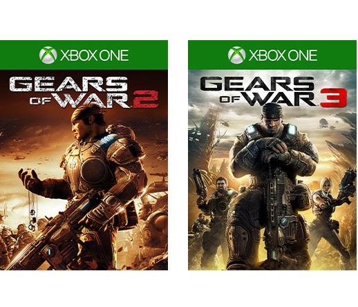 XBOX - Gear of Wars 2 y 3 por solo 0,59€