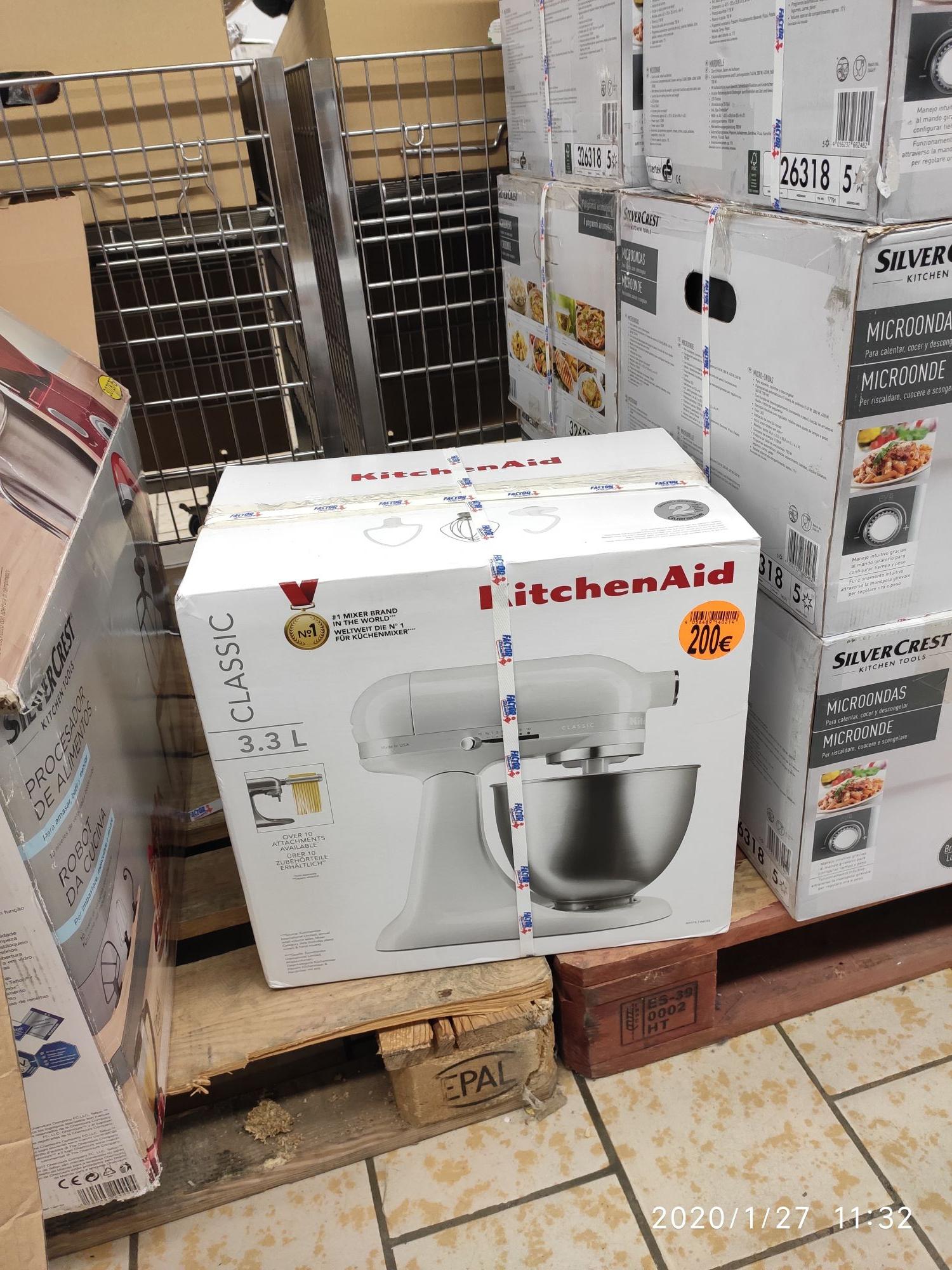 Amasadora Kitchen Aid 200 euros Pinto