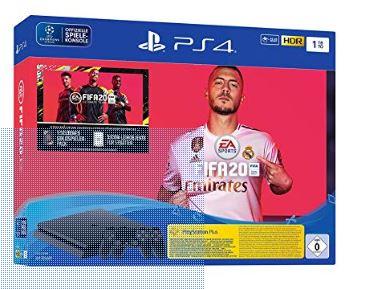 PlayStation 4 Slim - (1TB) + 2 DualShock REACO [Importación alemana]