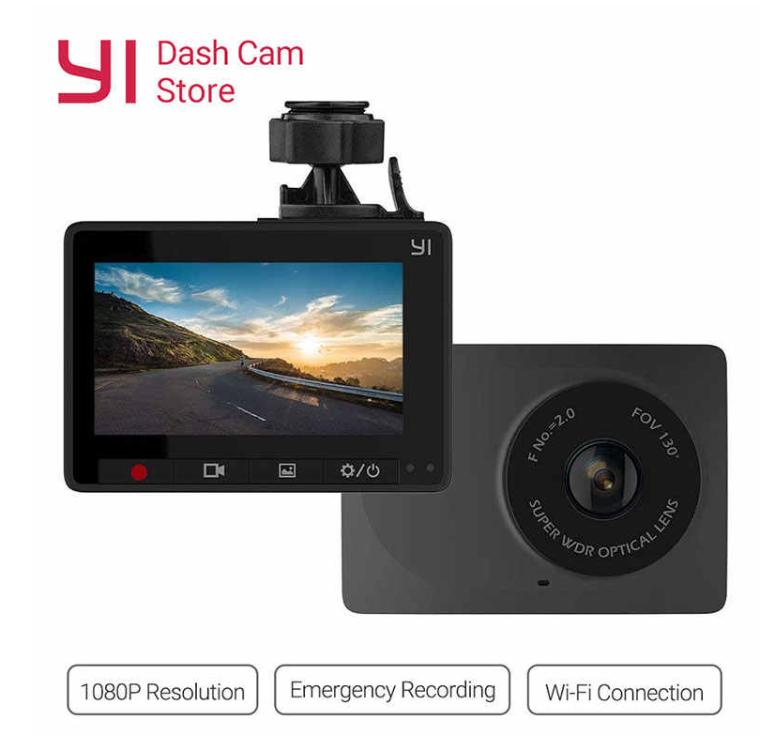 Cámara para coche YI 1080p. Envio desde España.