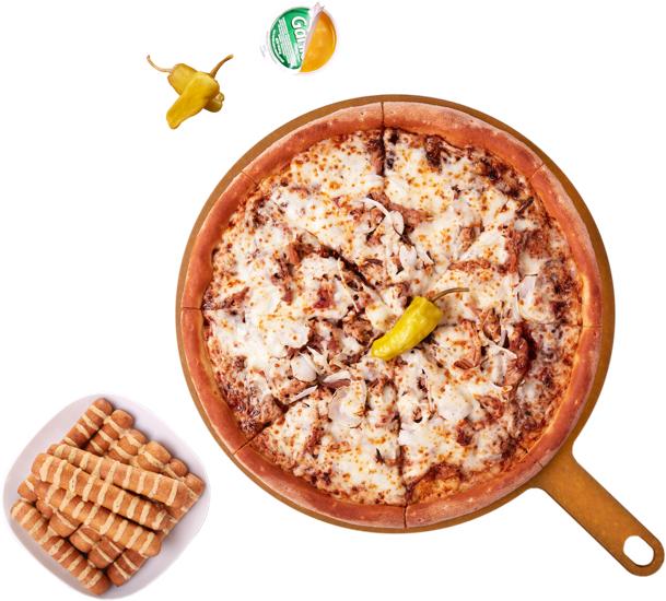 Pizza a recoger en Papa johns Alcobendas