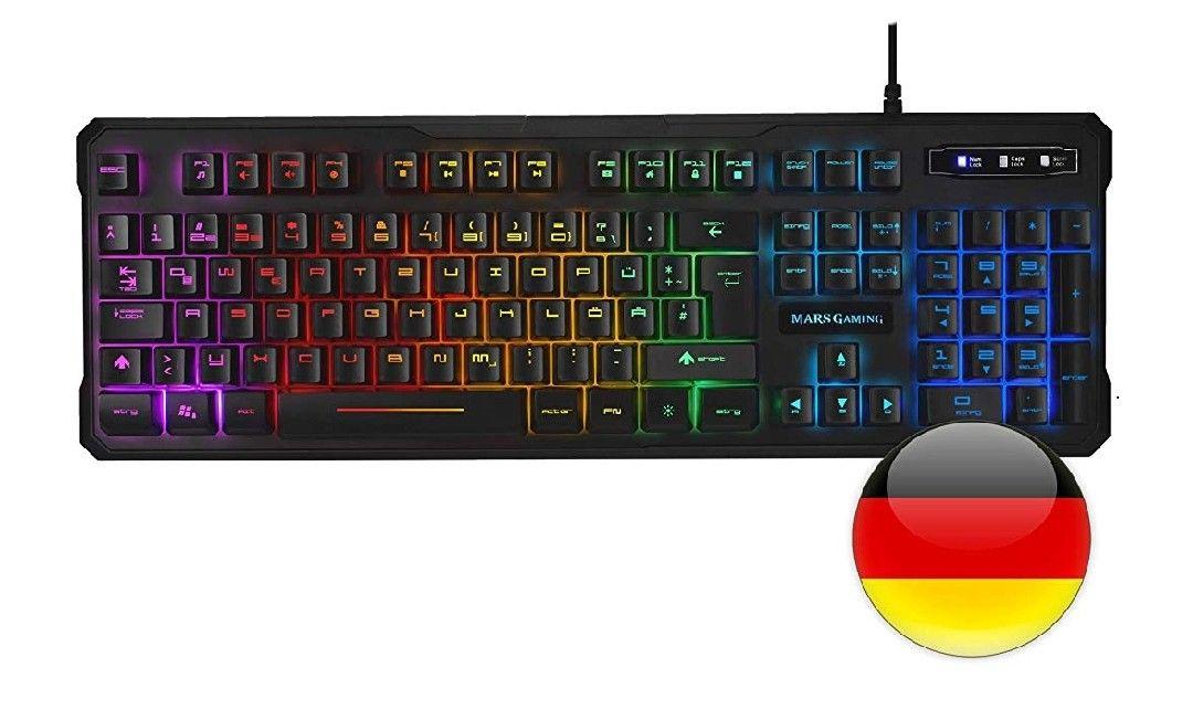 Mars Gaming MK218, teclado H-Mechanical (AZERTY)