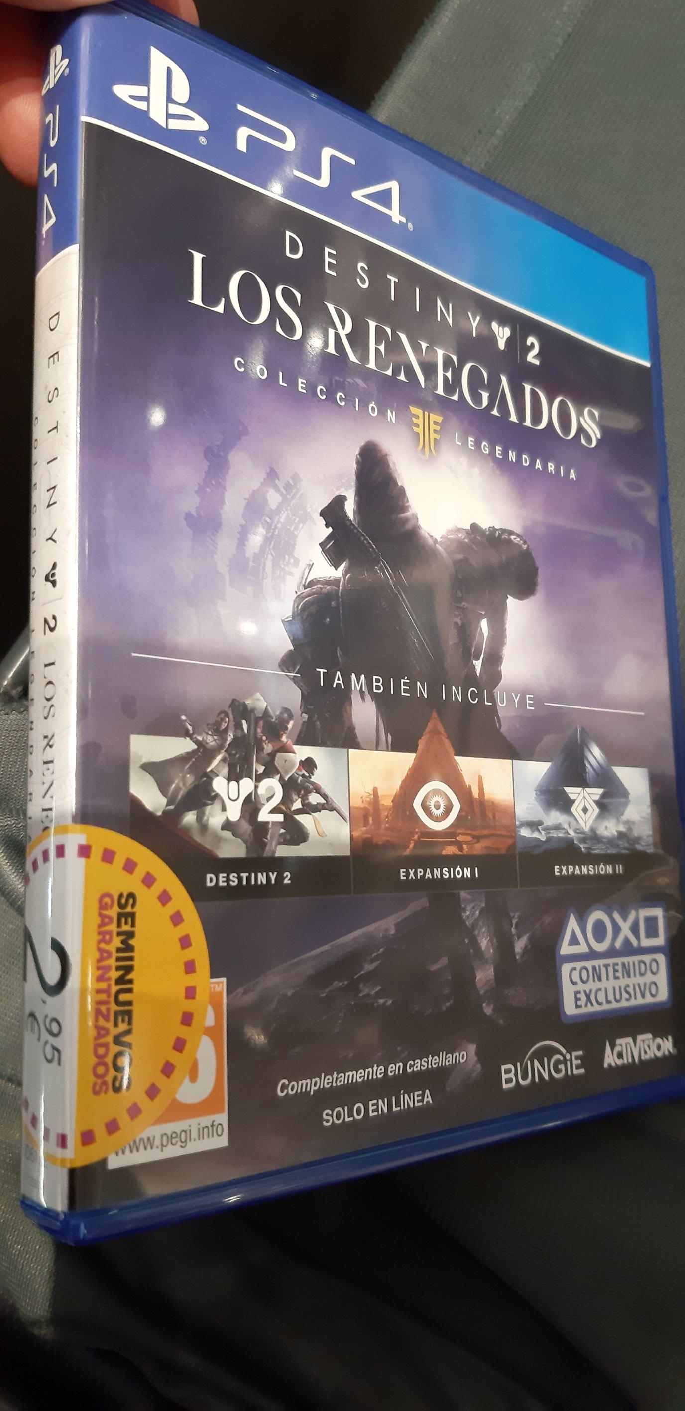 Destiny 2 - Los renegados - Colección Legendaria - Game REACOS
