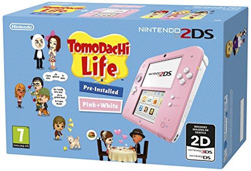 Nintendo 2DS Color rosa+Tomodachi Life Nueva