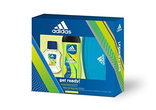 Adidas Get Ready! Eau de Toilette 50 ml + 3 en 1 Gel de ducha de 250 ml