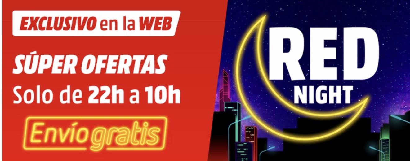 RED NIGHT Mediamarkt de 22:00 a 10:00