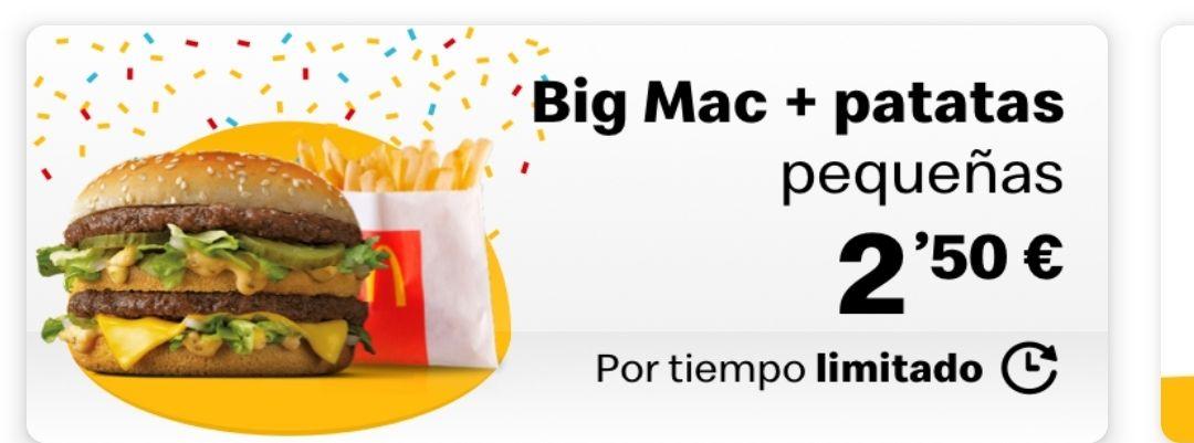 Big Mac + Patatas