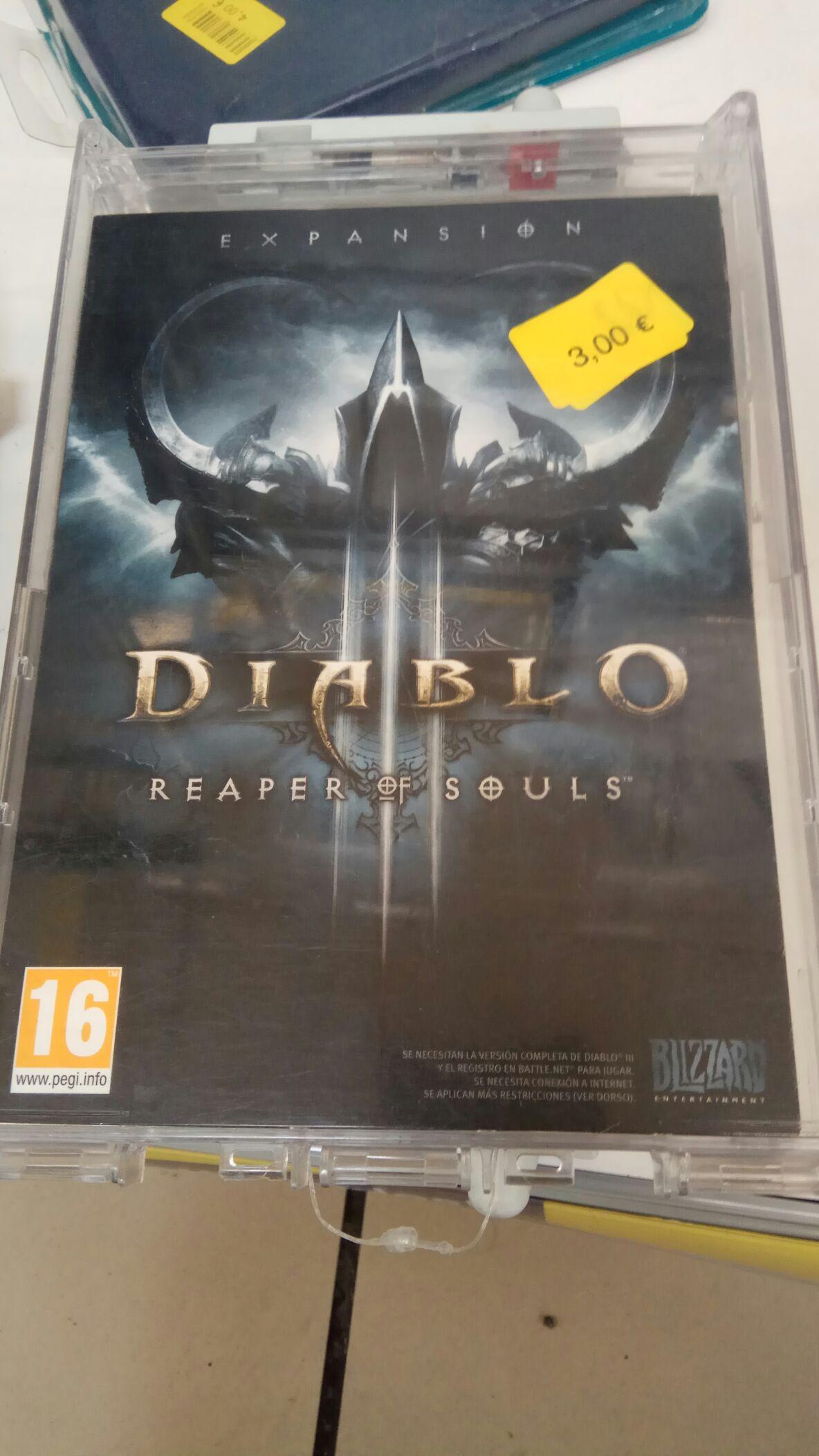 Diablo 3 DLC Reaper of Souls PC Battle.net