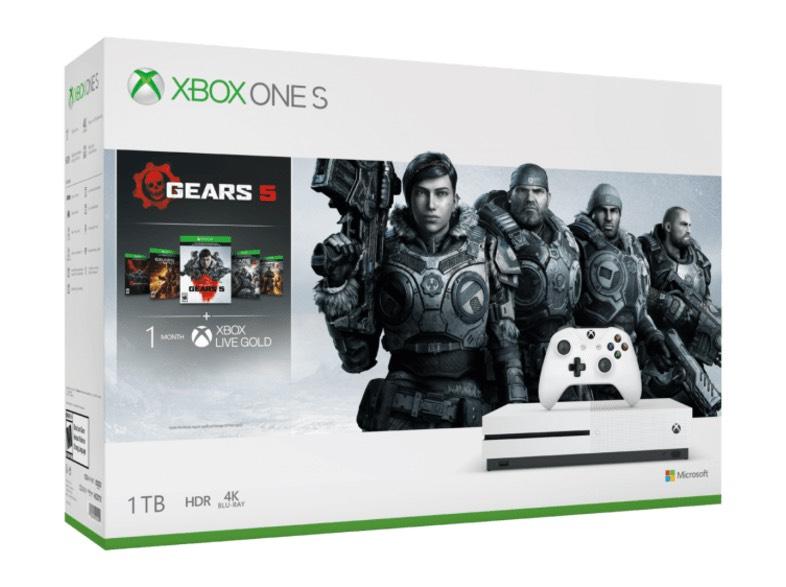 Xbox One S 1 TB + Gears 5