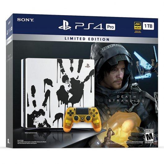 Sony PlayStation 4 Pro 1TB (Edición Limitada + Death Stranding)