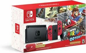 Nintendo Switch V1 Edición Super Mario Odyssey