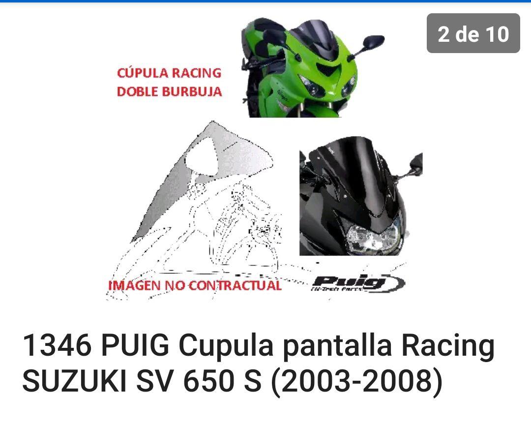 Cúpula Suzuki sv650 (reaco)