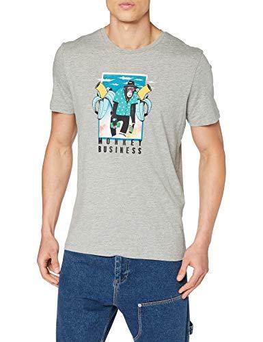 JACK & JONES Jorfunnymal tee SS Crew Neck TG Camiseta para Hombre