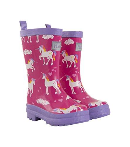 Hatley Butterflies - Botas de Agua con unicornios para niñas