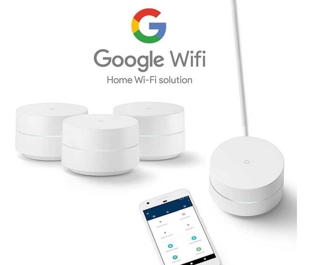 Google Wifi - Mínimo histórico en Amazon