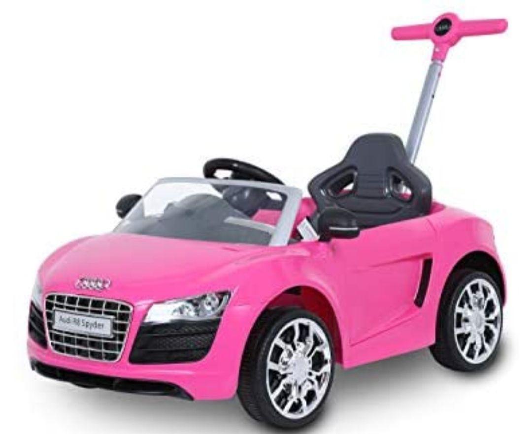 Audi Push Car, Color Rosa REACO ( Como nuevo y muy bueno)