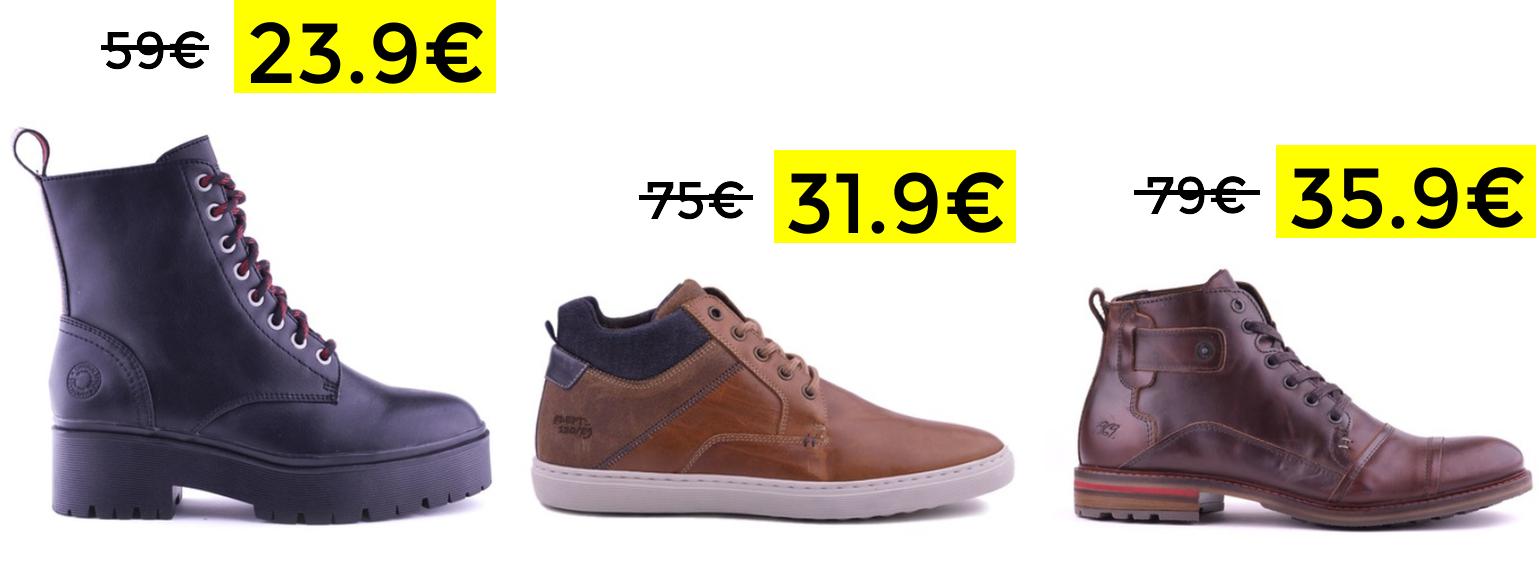 Preciazos en zapatos y botas Bullboxer piel