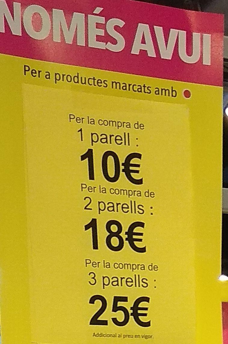 Liquidación calzado Merkal (Centro comercial Glòries Barcelona)