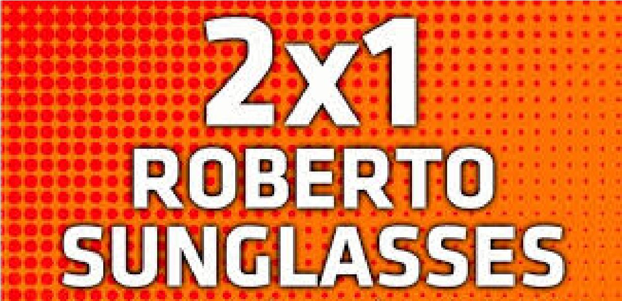 2x1 Gafas de Sol Roberto Martin