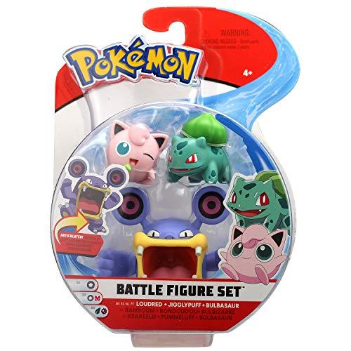 Pokemon Pack de 3 Figuras de Combate Modelos Surtidos (BIZAK 63227221)