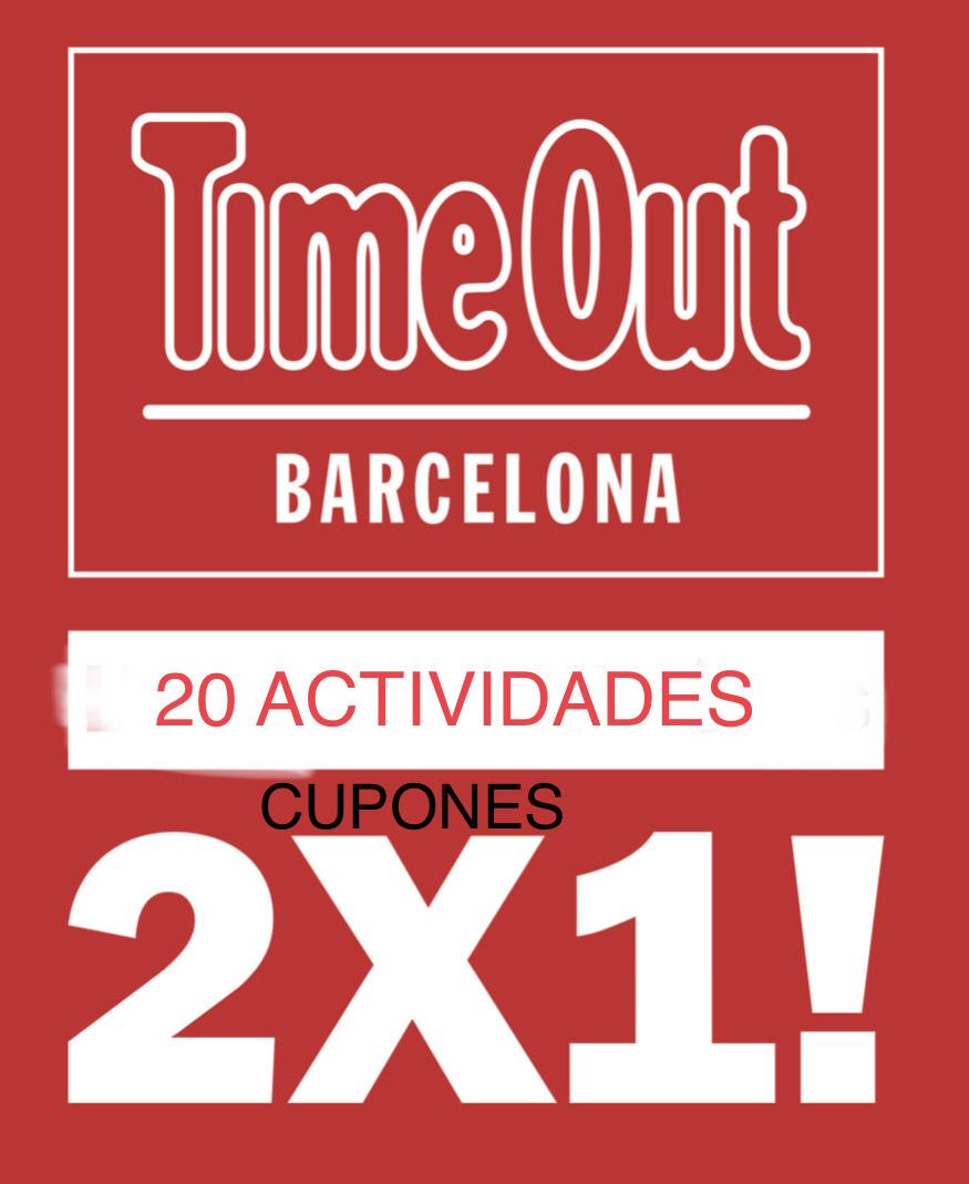 2x1 BCN en 20 actividades