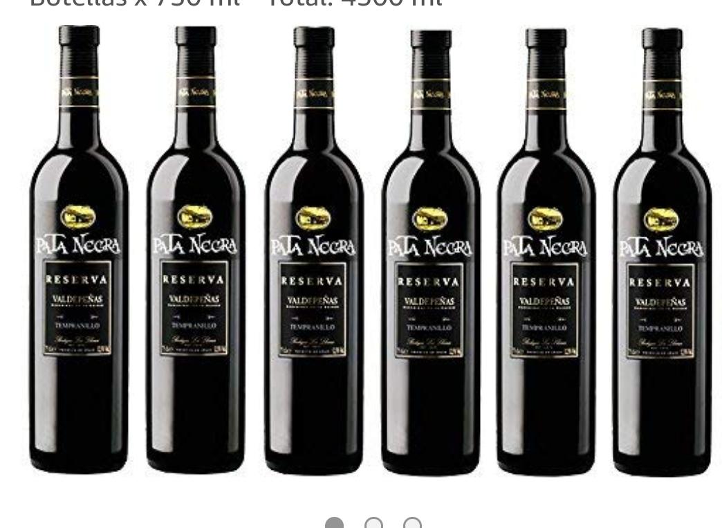 Pata Negra Reserva 2013 Vino Tinto D.O Valdepeñas