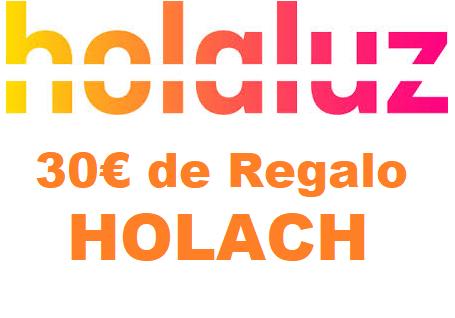¡Código descuento HolaLuz de 30€!
