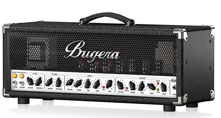 Bugera 6262 - Cabezal a válvulas 120 w - Reaco