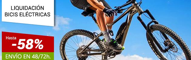 Descuentos desde el 30 al 58% en Bicicletas Eléctricas