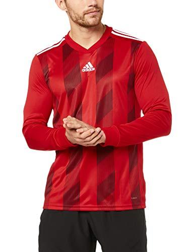 TALLA S - adidas Striped19 JSY L Long Sleeved t-Shirt, Camiseta para Hombre
