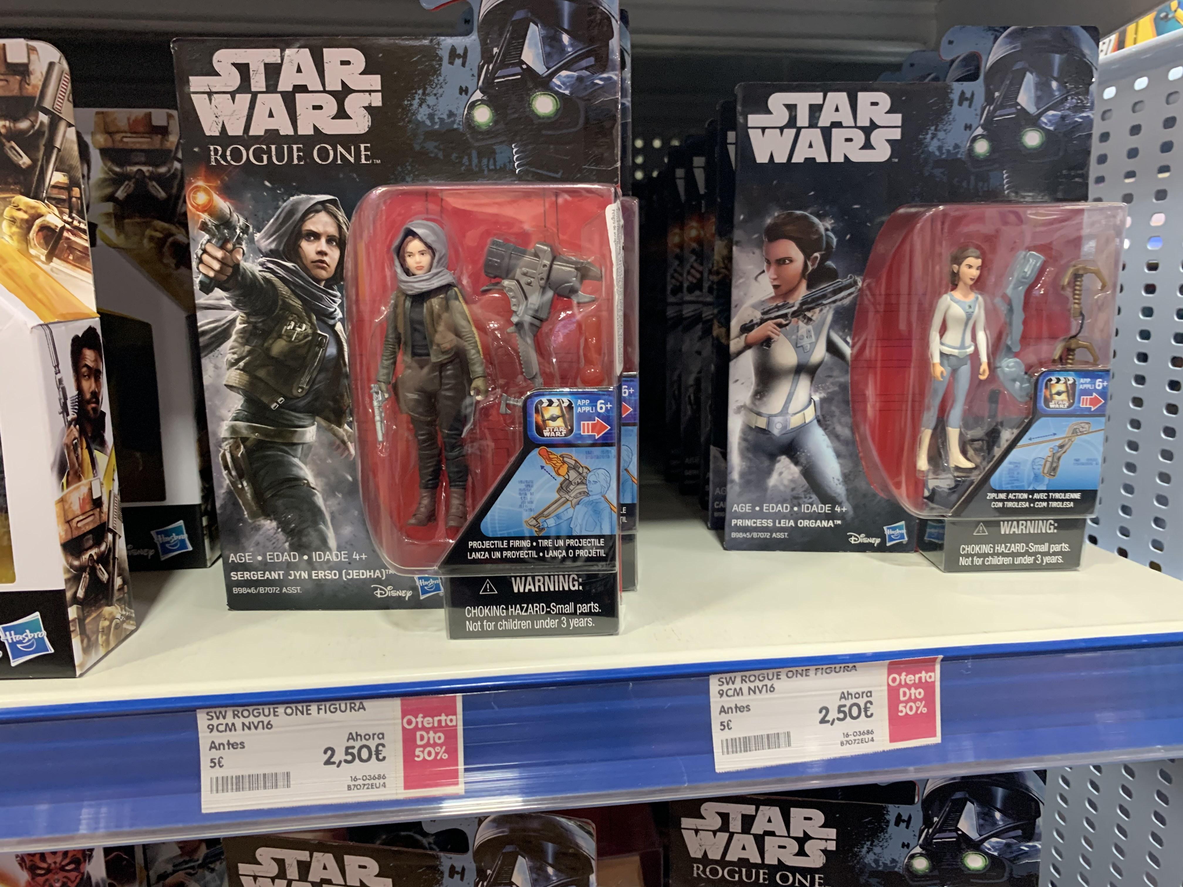 Selección figuras STAR WARS Hasbro (Poly Murcia)